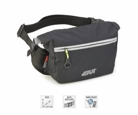 GIVI EA125 water resistant waist bag adjustable at the waist