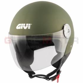 Givi Helmet Man D-jet 10.7 Mini Jet Green Military H107BV634