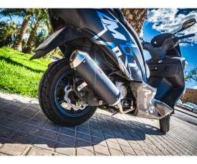 Complete Exhaust GPR Evo4 Road Catalyzed Kymco Downtown 125 e4 2017 > 2020