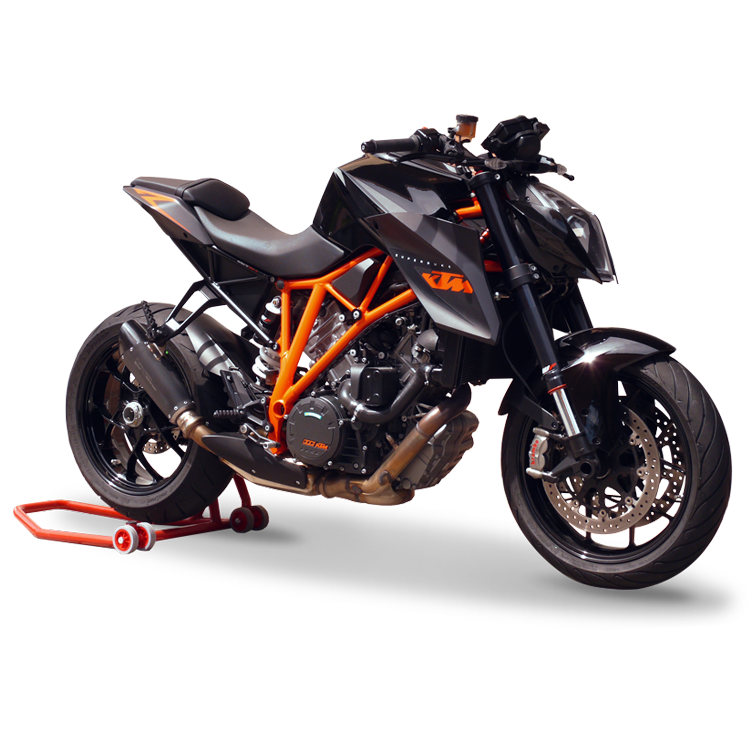 ktm 1290 super duke r 2016 exhaust hp corse evoxtreme black 310 mm racing ebay. Black Bedroom Furniture Sets. Home Design Ideas