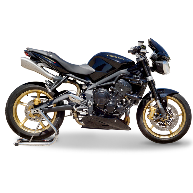 triumph street triple 2010 exhaust hp corse double hydroform ebay. Black Bedroom Furniture Sets. Home Design Ideas