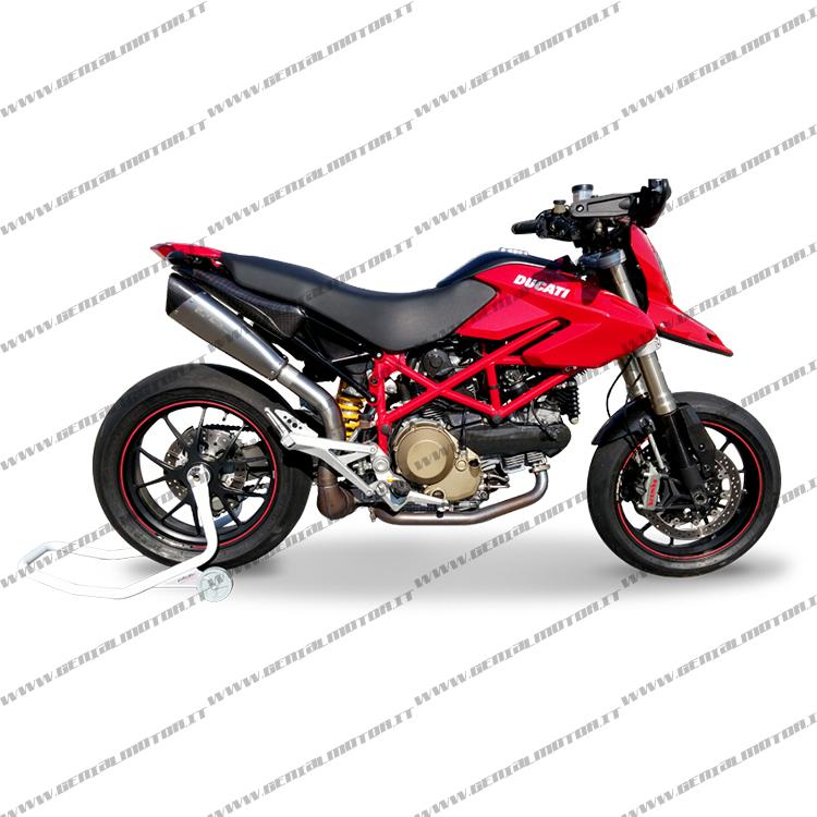Ducati Hypermotard 1100 2007  -  2012 Escape Hp Corse Evoxtreme Duevo3111s-ab