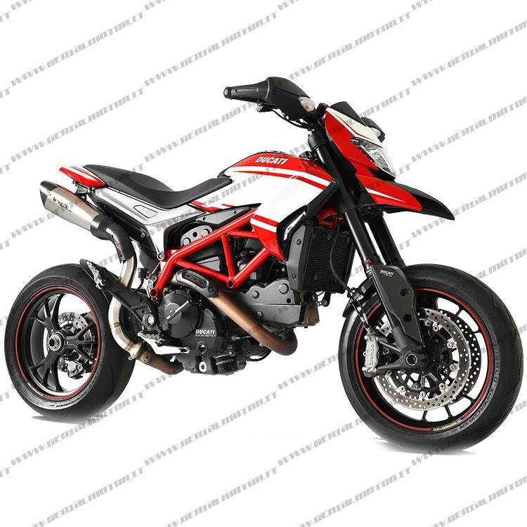 Ducati Hypermotard  821 2013  -  2015 Terminale Hp Corse Evoxtreme Duevo3108hs-ab