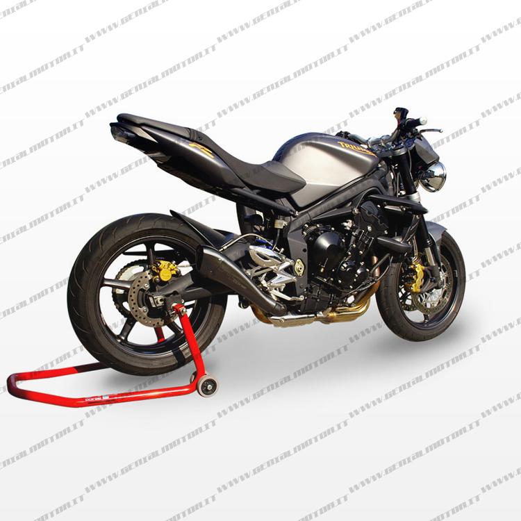 Triumph Street Triple 2007 2012 Exhaust Hp Corse Hydroform Black