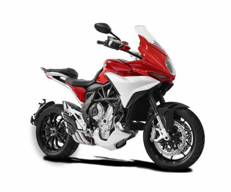 VMV3HY1008SCG-A Exhaust Muffler Hpcorse Hydrotre Cover Carb Stainless Steel Mv Agusta Turismo Veloce 2014 > 2016
