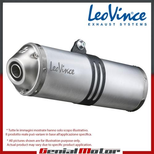 YAMAHA TT 600 R 1998 LEOVINCE TUBO DE ESCAPE SILENCIADOR X3 ALUMINIO 5123E
