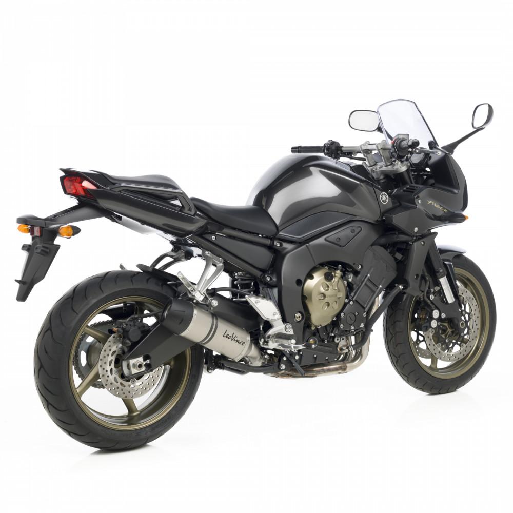 8297E Pot D'Echappement Lv One Acier Yamaha Fazer/Gt 2006 > 2015