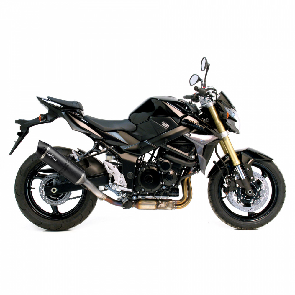 8544E Pot D'Echappement Lv One Evo Carbone Suzuki Gsr/Gsx S 750 2011 > 2016