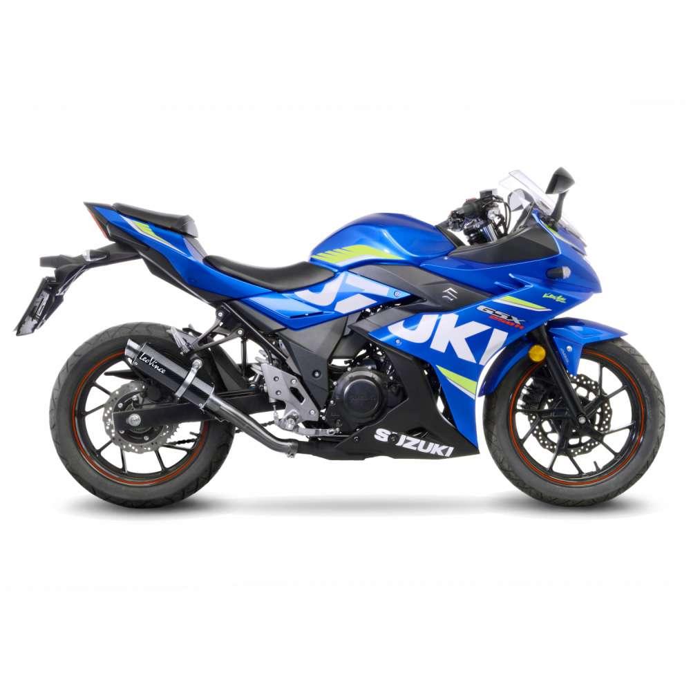 3387 Pot D'Echappement Gp Corsa Carbone Suzuki Gsx 250 R/Abs 2017 > 2020