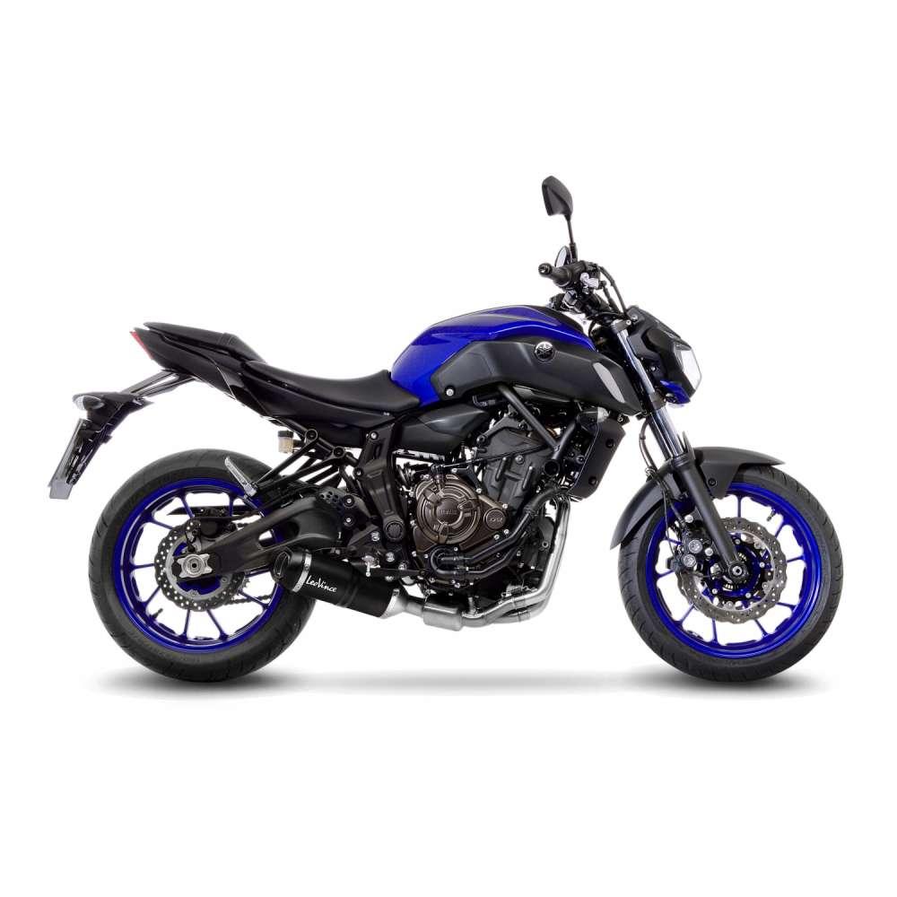 14252EK Echappement Complete Kat Leovince Lv One E Carbon Yamaha Mt 07/Fz 07 2017 > 2020