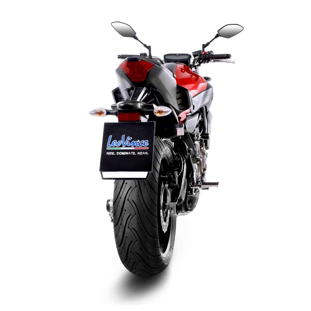 8796 Echappement Complete Leovince Underbody Acier Yamaha Mt 07/Fz 07 2014 > 2016
