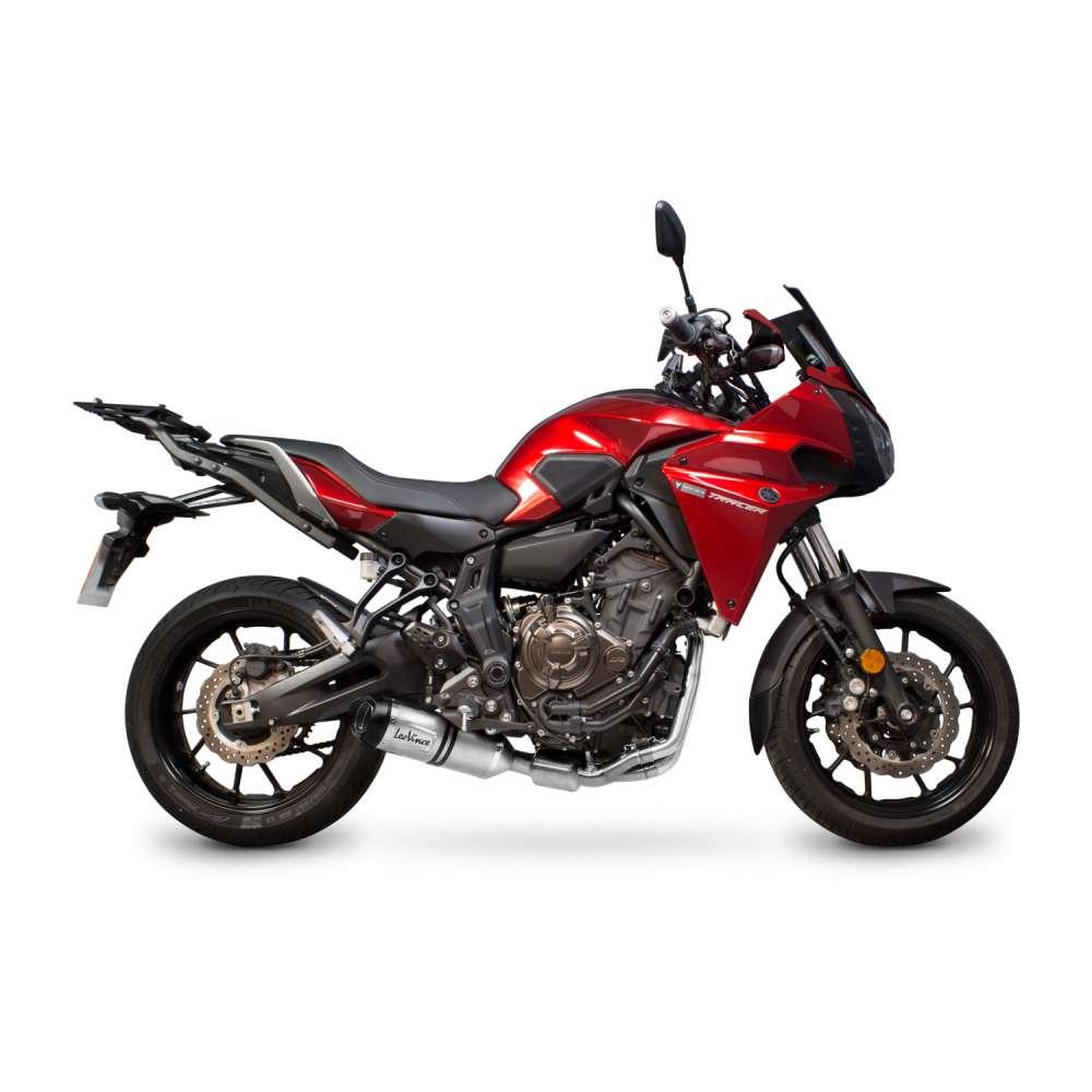 14251EK Echappement Complete Kat Leovince Lv One Evo Yamaha Mt 07 Tracer 2016 > 2020