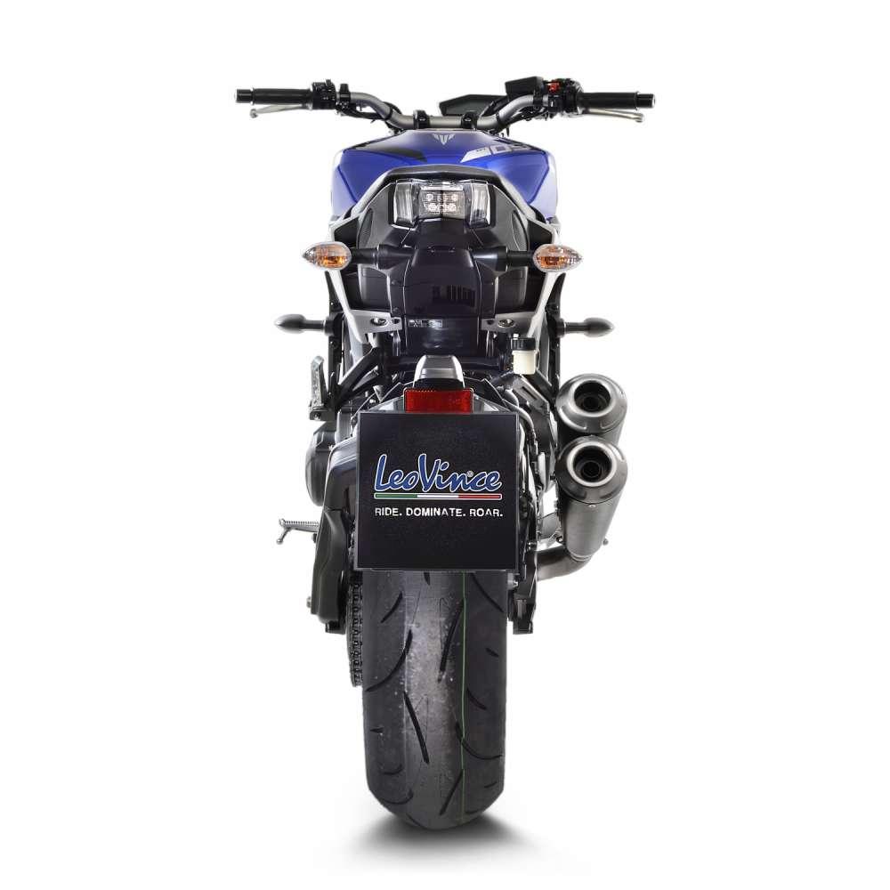 15108K Echappement Complete Kat Leovince Gp Duals Yamaha Mt 09/Fz 09/Abs 2017 > 2020