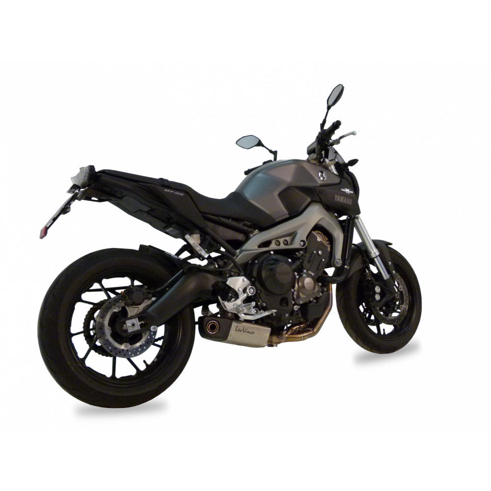 8797 Pot D'Echappement Complete Leovince Underbody Yamaha Mt 09/Fz 09/Abs 2013 > 2016