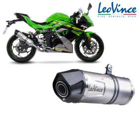 Exhaust Leovince LV ONE EVO INOX approved KAWASAKI NINJA 125 2019 > 2020 14293E
