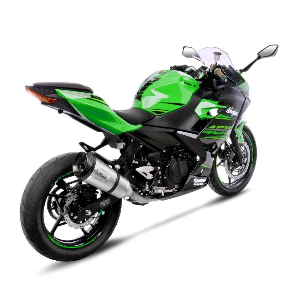 Scarico Completo Leovince Factory S Acciaio Kawasaki Ninja 400 2018 > 2019