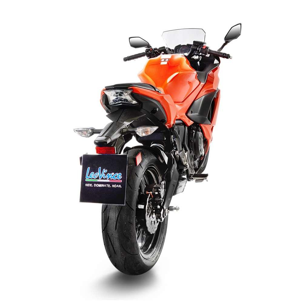 14170K Echappement Complete Kat Leovince Underbody Kawasaki Ninja 650 2017 > 2021