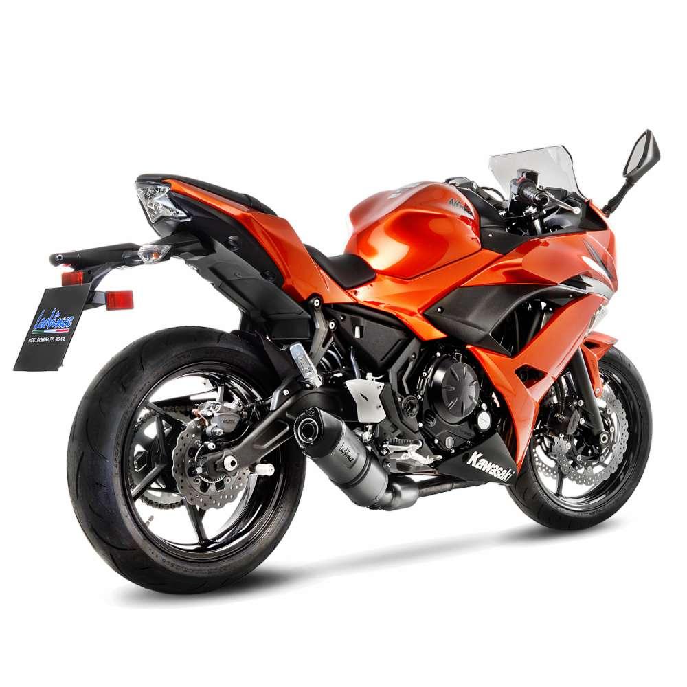 14181EK Echappement Complete Kat Leovince Lv One Evo Kawasaki Ninja 650 2017 > 2021