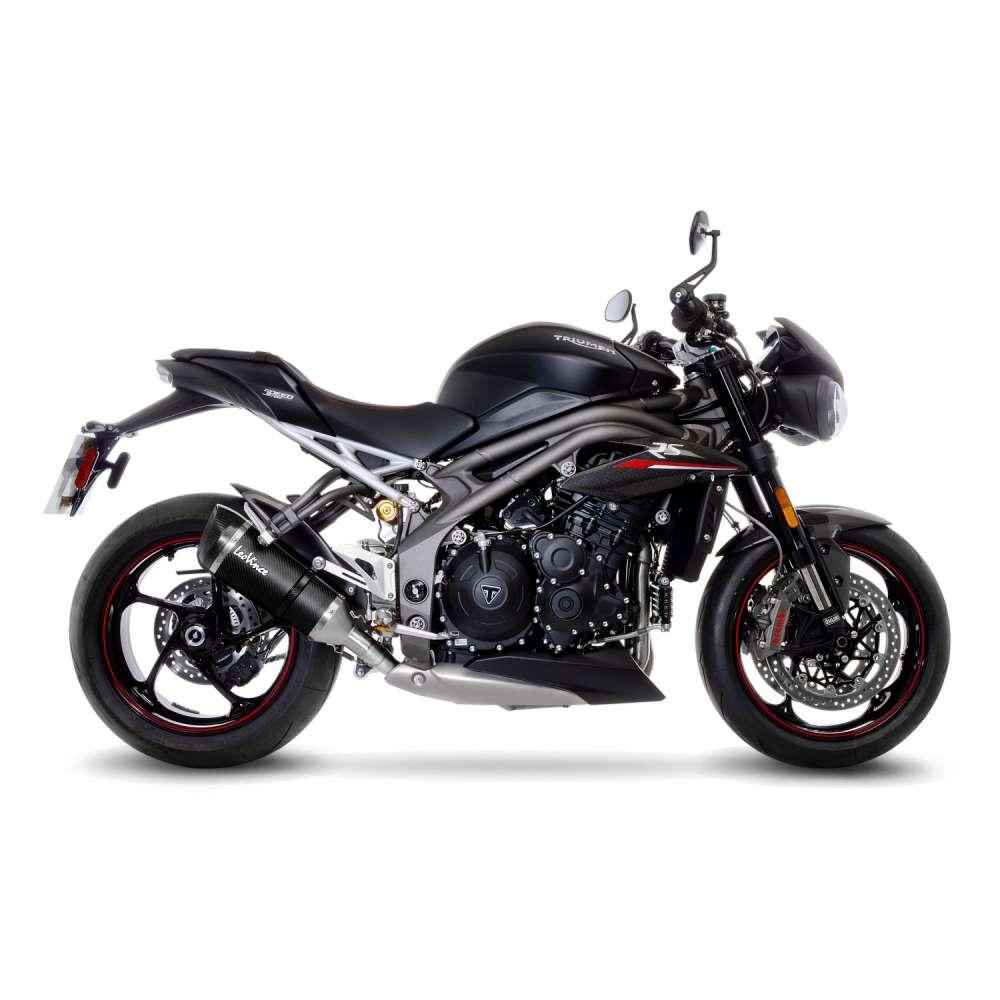14280S Pot D'Echappement Factory S Carbon Triumph Speed Triple 1050 Rs/S 2018 > 2020