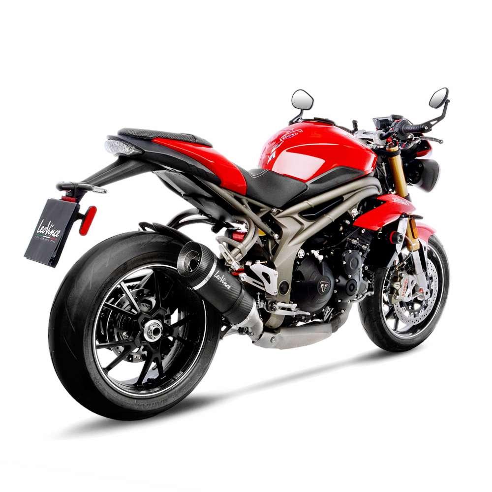 14238S Pot D'Echappement Factory S Carbon Triumph Speed Triple 1050 R/S 2016 > 2020
