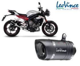 Exhaust Leovince LV PRO CARBON approved TRIUMPH STREET TRIPLE 765 2017 > 2019 14287E