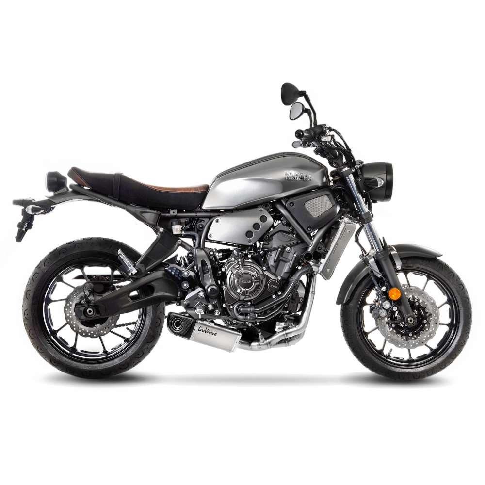 14148K Echappement Complete Kat Leovince Underbody Acc Yamaha Xsr 700 2016 > 2021