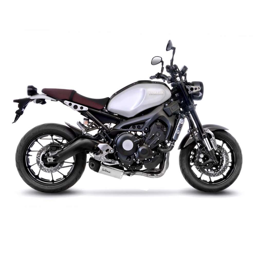 14156 Pot D'Echappement Complete Leovince Underbody Acier Yamaha Xsr 900 2016 > 2021