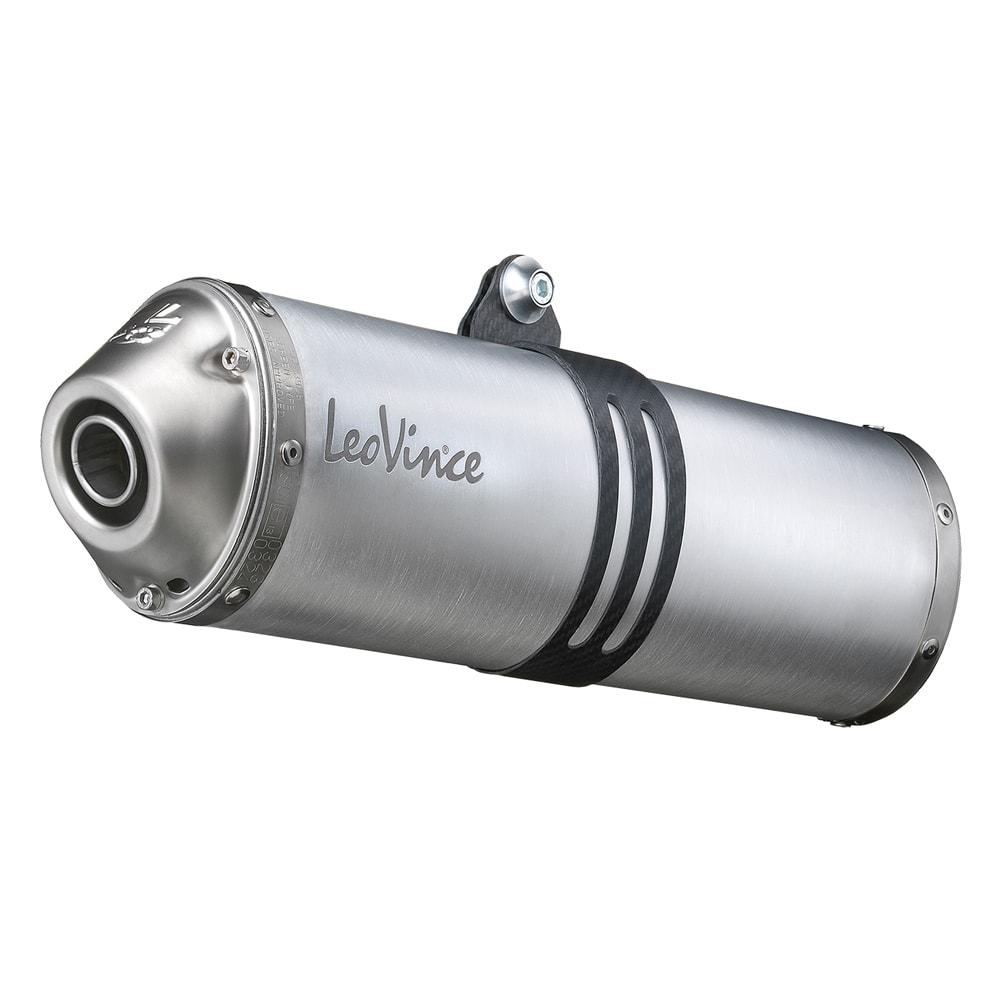 3968E 2 Pots D'Echappement Leovince X3 Aluminium Yamaha Xt 660 R/X 2004 > 2016