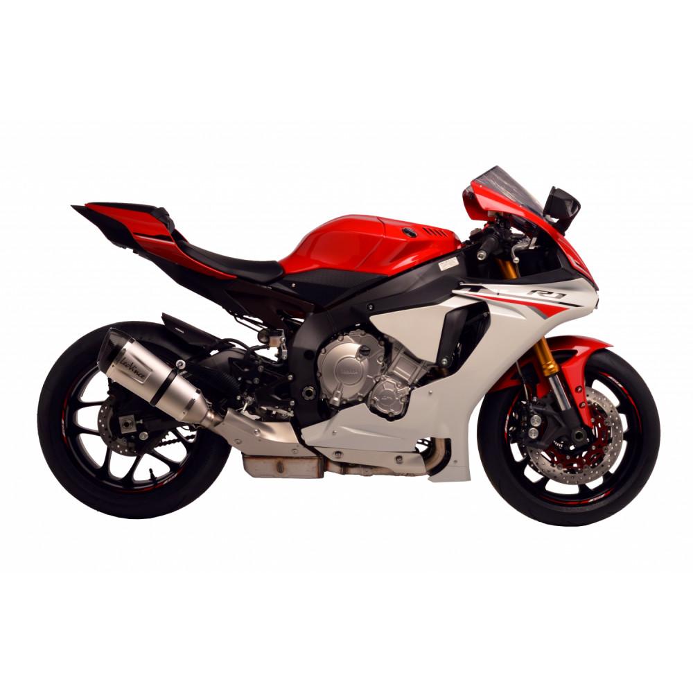 14119S Pot D'Echappement Factory S Acier Yamaha Yzf R1/M 2015 > 2016