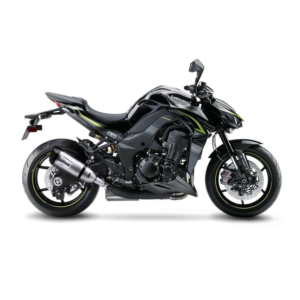 14223S 2 Pots D'Echappement Leovince Factory S Acier Kawasaki Z 1000 2017 > 2020