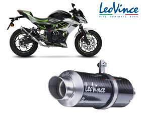 Exhaust Leovince GP CORSA CARBON Racing KAWASAKI Z 125 2019 > 2020 3393