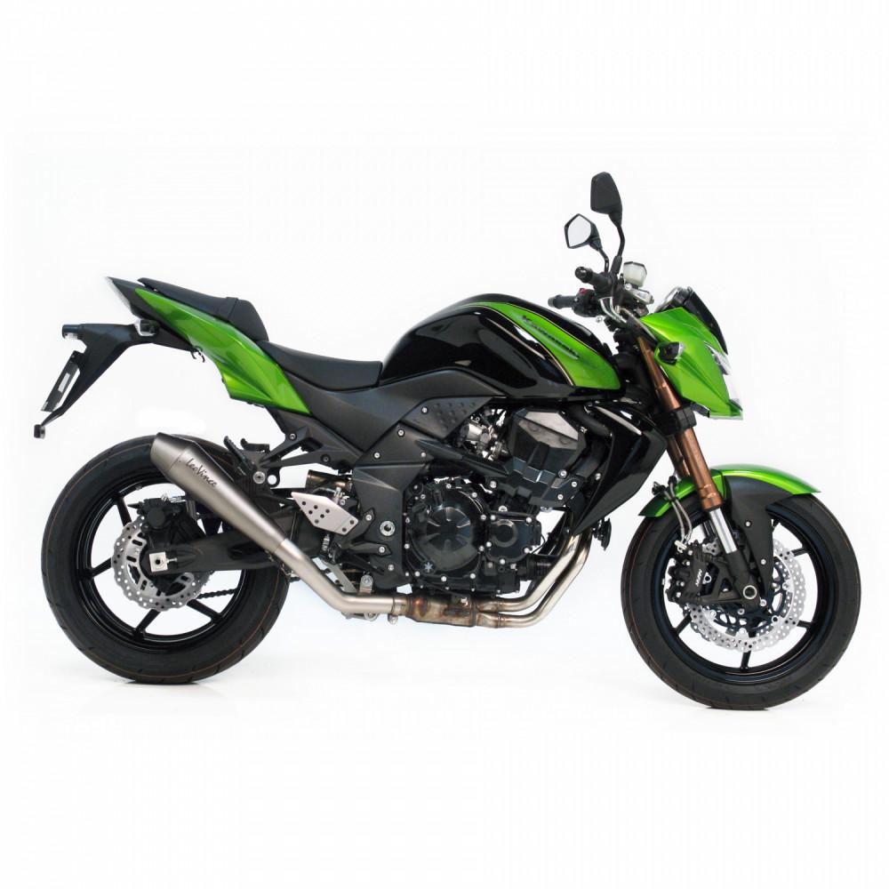 7917 Pot D'Echappement Gp Style Acier Kawasaki Z 750 R 2011 > 2014