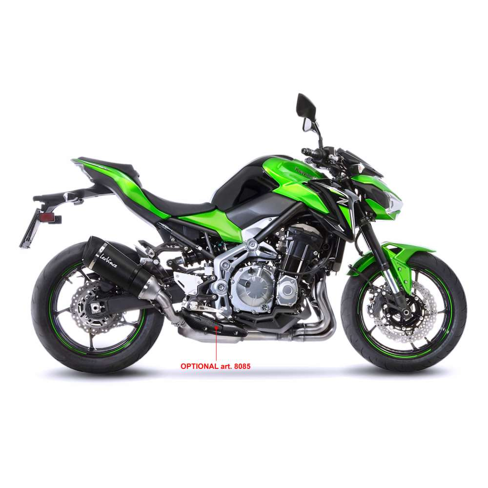 14174S Pot D'Echappement Factory S Carbone Kawasaki Z 900 2017 > 2020