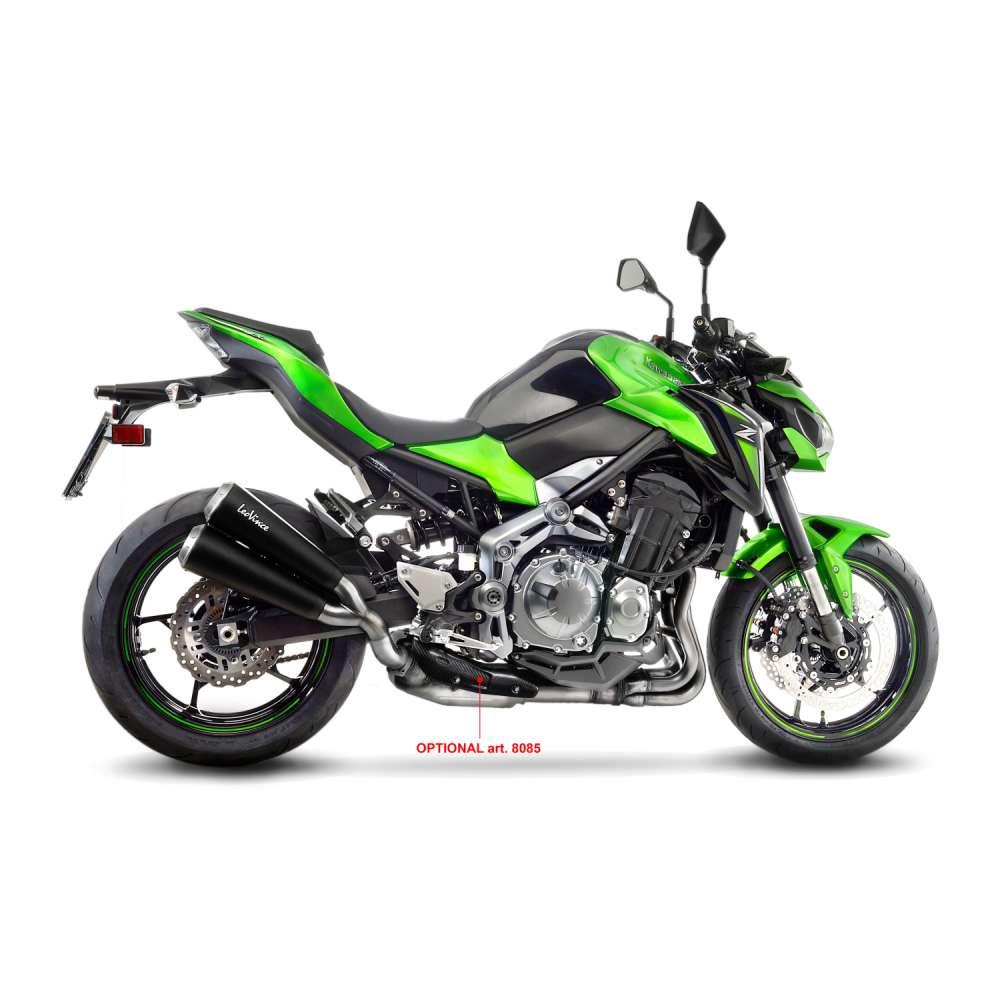15114 Pot D'Echappement Gp Duals Acier Kawasaki Z 900 2017 > 2020