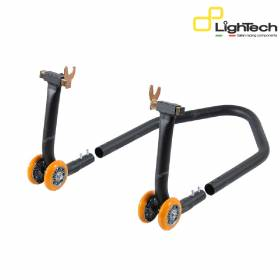 LIGHTECH Cavalletto Posteriore Supporti Gomma RSF039P Kawasaki Z750 2004 > 2012