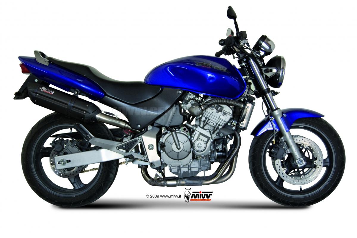 Mivv Exhaust Muffler Suono Black Steel Honda Hornet 600 1998 98 Ebay