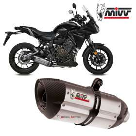 Mivv Complete Exhaust Suono Inox for YAMAHA TRACER 700 GT 2016 > 2019