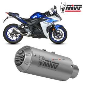 Mivv Complete Exhaust Full system Inox for YAMAHA YZF R3 2015 > 2018