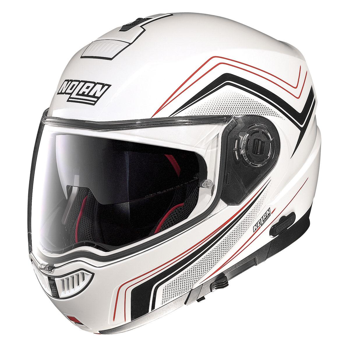 nolan helmet n104 absolute como n com 48 metal white. Black Bedroom Furniture Sets. Home Design Ideas