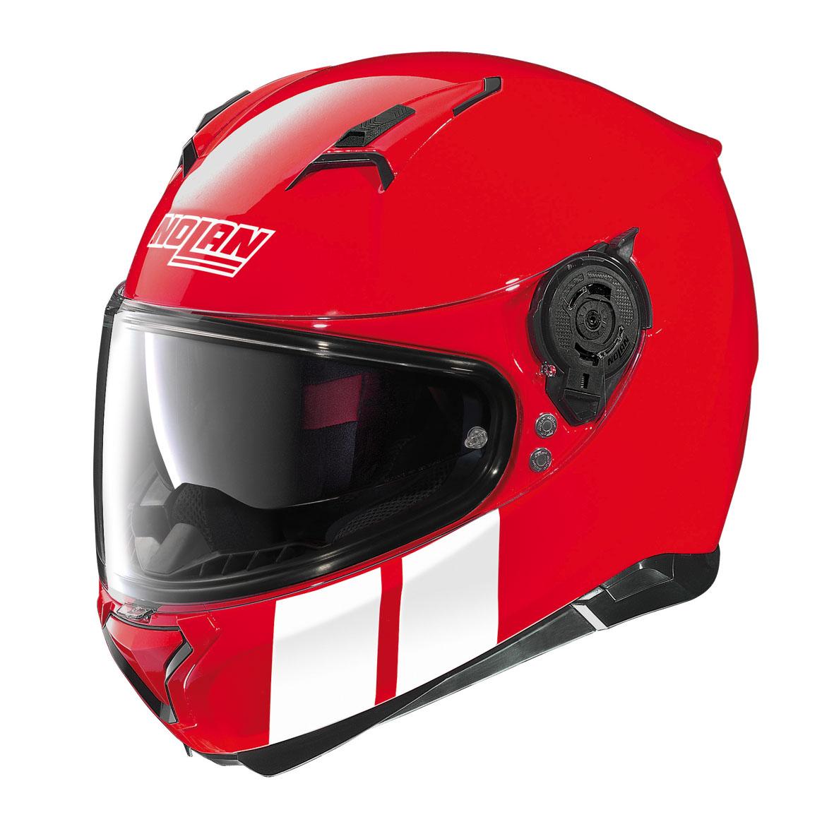 nolan helmet n87 martz n com 25 corsa red genialmotor. Black Bedroom Furniture Sets. Home Design Ideas