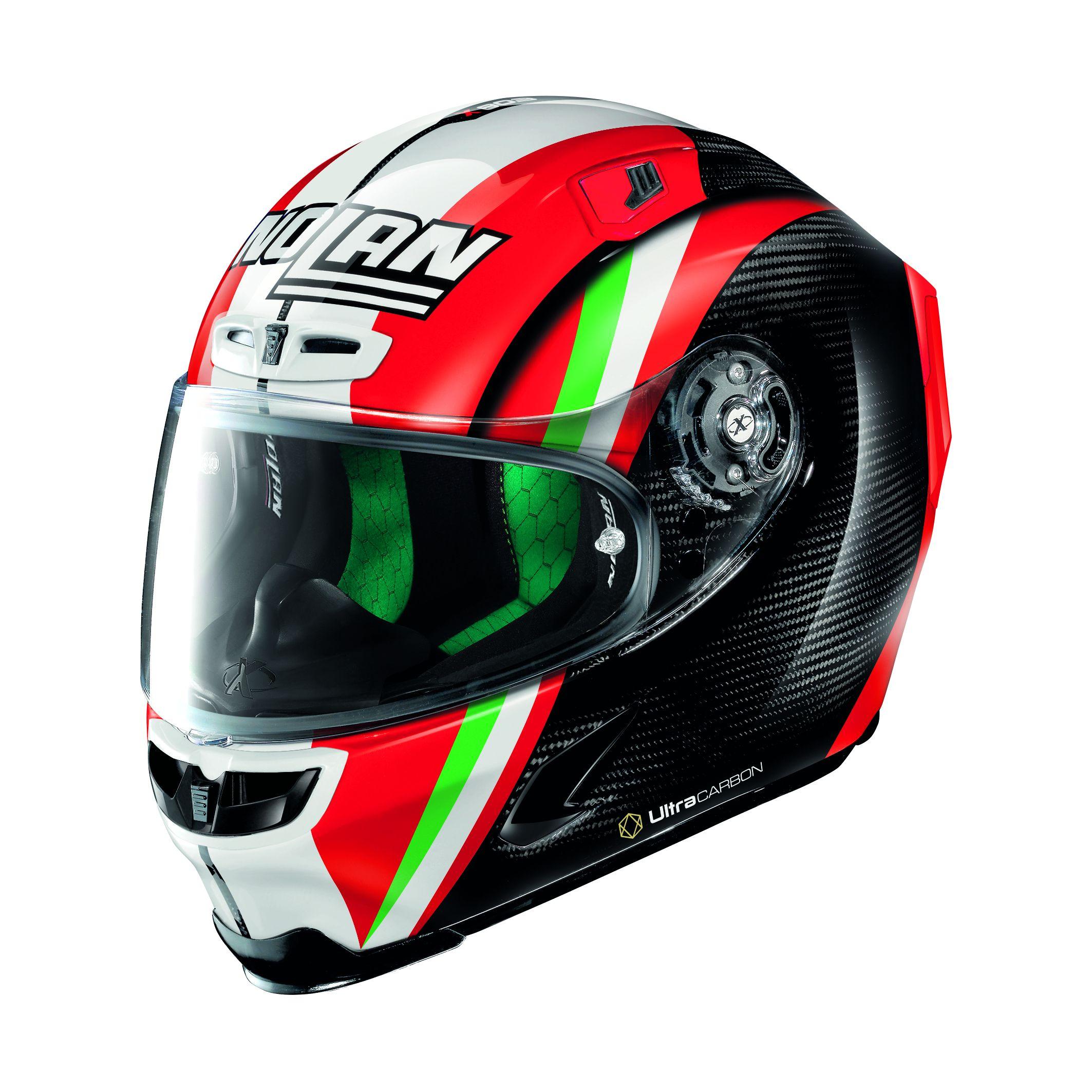 Detalles de Casco Moto X lite Helmet X 803 Ultra Carbon Replica Cara Completa 26 Talla M