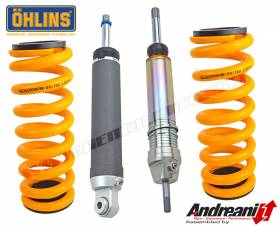 Bmw R 1200 GS Adv Kit ASA front+rear 2006 > 2016 Ohlins Ammortizzatore AG1256+AG1257  AG1243