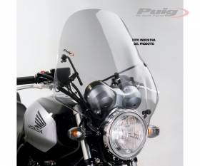 PUIG WINDSHIELD LIGHT SMOKED 0328H TRIUMPH SPEED TWIN 1200 2019