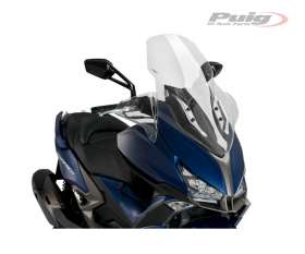 PUIG WINDSHIELD TRANSPARENT 3757W KYMCO XCITING S 400 2019 > 2020