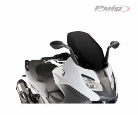 PUIG WINDSHIELD BLACK 9014N BMW C 650 SPORT650 2016 > 2020
