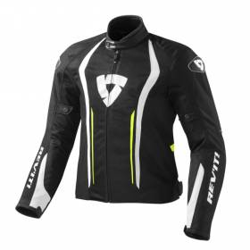 FJT188 REVIT JACKET AIRFORCE 1450 BLACK - NEON YELLOW MULTI SIZE REV'IT