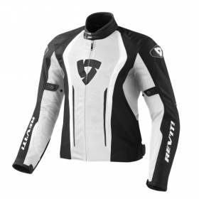 FJT188 REVIT JACKET AIRFORCE 3050 WHITE - BLACK MULTI SIZE REV'IT