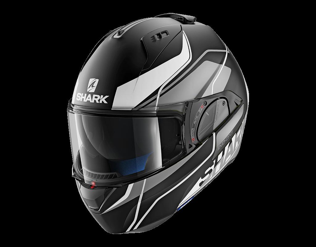 shark helmet evo one 2 krono mat size m he9709ksw ebay. Black Bedroom Furniture Sets. Home Design Ideas