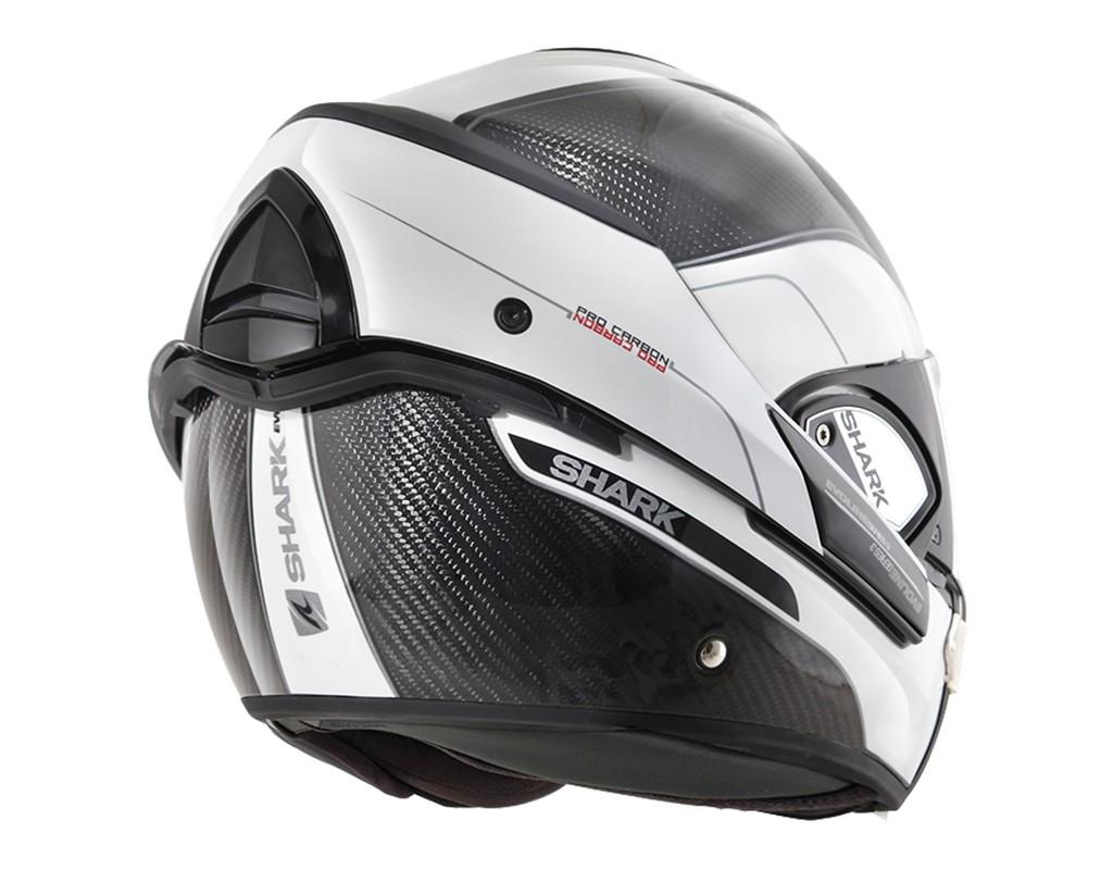 shark helmet evoline pro carbon carbon size xs he9900dwa 3599181729543 ebay. Black Bedroom Furniture Sets. Home Design Ideas