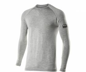 T-shirt SIX2 manches longues Merinos WOOL GREY - L/XL